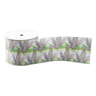 Beautiful buddleia grosgrain ribbon
