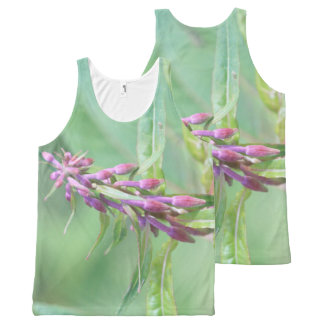 Beautiful Buds All-Over Print Tank Top