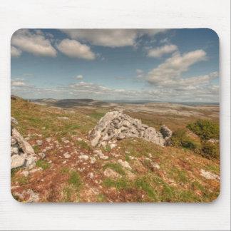 Beautiful Burren View Mouse Pad