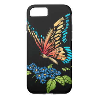 Beautiful Butterflies Art Customizable background iPhone 7 Case