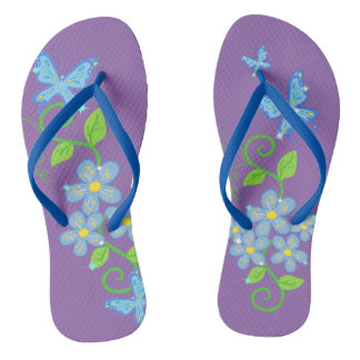 Beautiful Butterflies Flip Flop Flip Flops