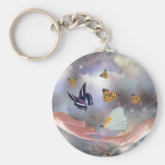 Beautiful Butterflies Key Ring