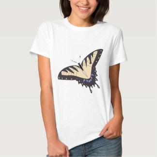 Beautiful butterfly animation illustration t-shirt