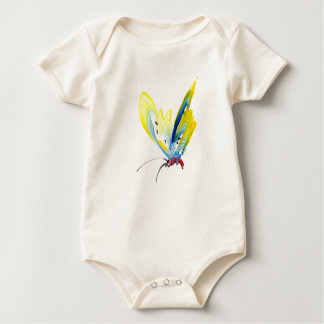 Beautiful butterfly for baby baby bodysuit