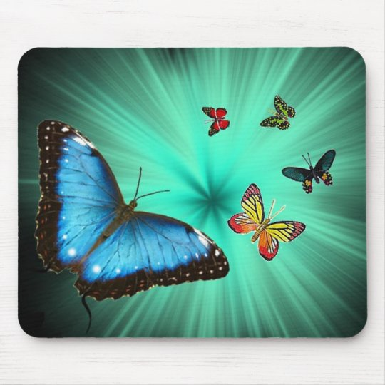 Beautiful Butterfly Journey Mouse Mat