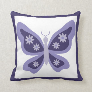 Beautiful Butterfly Nursery Throw Pillow