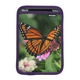 Beautiful Butterfly on Lantana Flower iPad Mini Sleeve