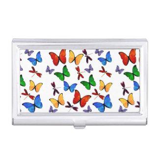 Beautiful Butterfly Pattern Business Card Holder