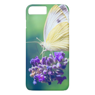 Beautiful Butterfly Purple Flower Nature Scenery iPhone 7 Plus Case