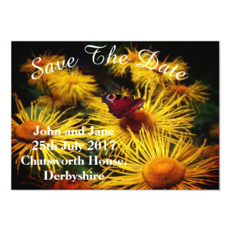 Beautiful Butterfly Save the Dates Card