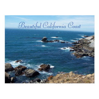 Beautiful California Coast Postcard