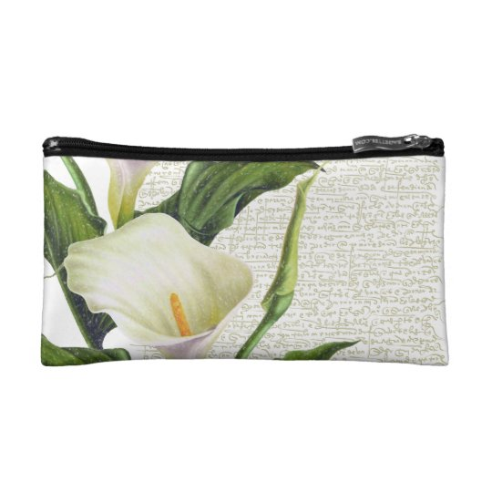 Beautiful Calla Lilies Makeup Bag
