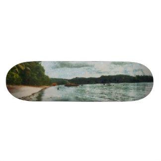 Beautiful calm seas 20.6 cm skateboard deck