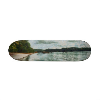 Beautiful calm seas skate board decks