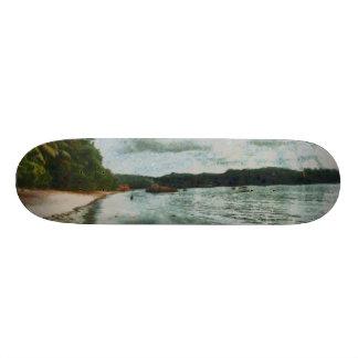 Beautiful calm seas skateboards