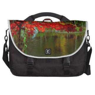 Beautiful Canadian Fall Season :  Greetings, Bless Laptop Bags