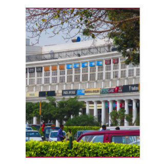 Beautiful cannought place newdelhi capital India Postcard