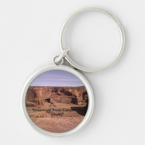 Beautiful Canyon De Chelly Keychain