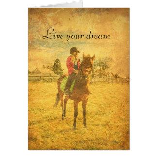 Beautiful Card! Vintage-feel, distressed artsy Card