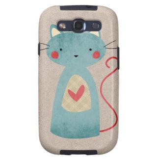 Beautiful Cat Folk Art Galaxy SIII Cover