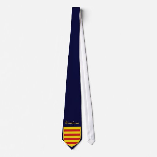 Beautiful Catalonia Flag Tie