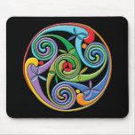 Beautiful Celtic Mandala with Colourful Swirls