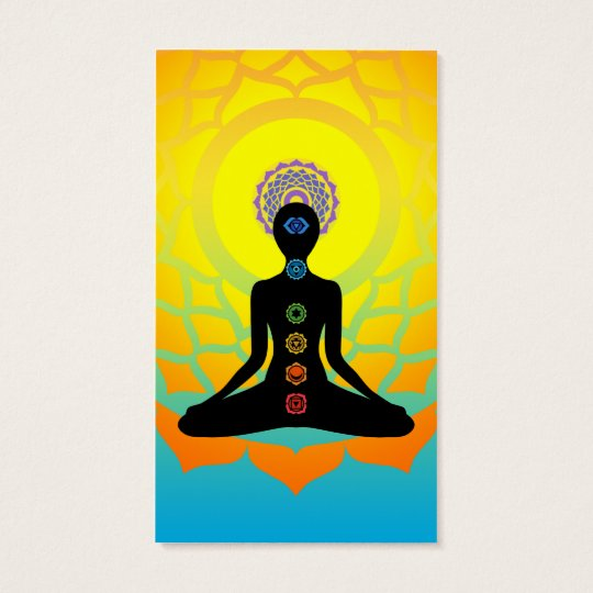 beautiful chakras business card