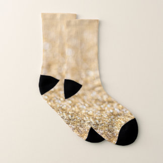 Beautiful champagne gold glitter sparkles 1