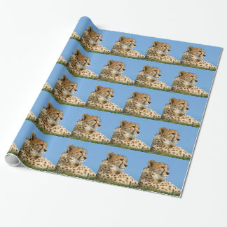 Beautiful Cheetah Wrapping Paper
