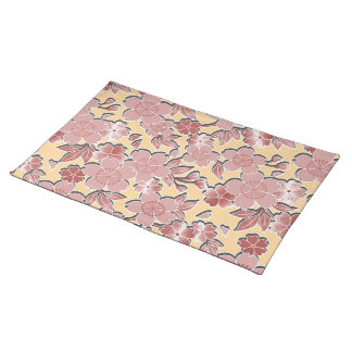 Beautiful cherry blossoms placemat
