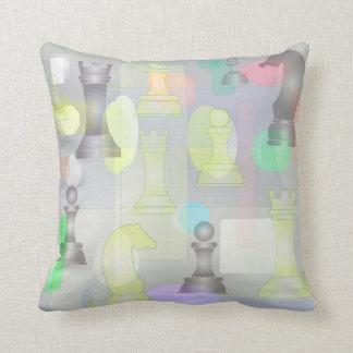 beautiful chess texture cushion