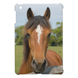 Beautiful chestnut horse head photo ipad mini case