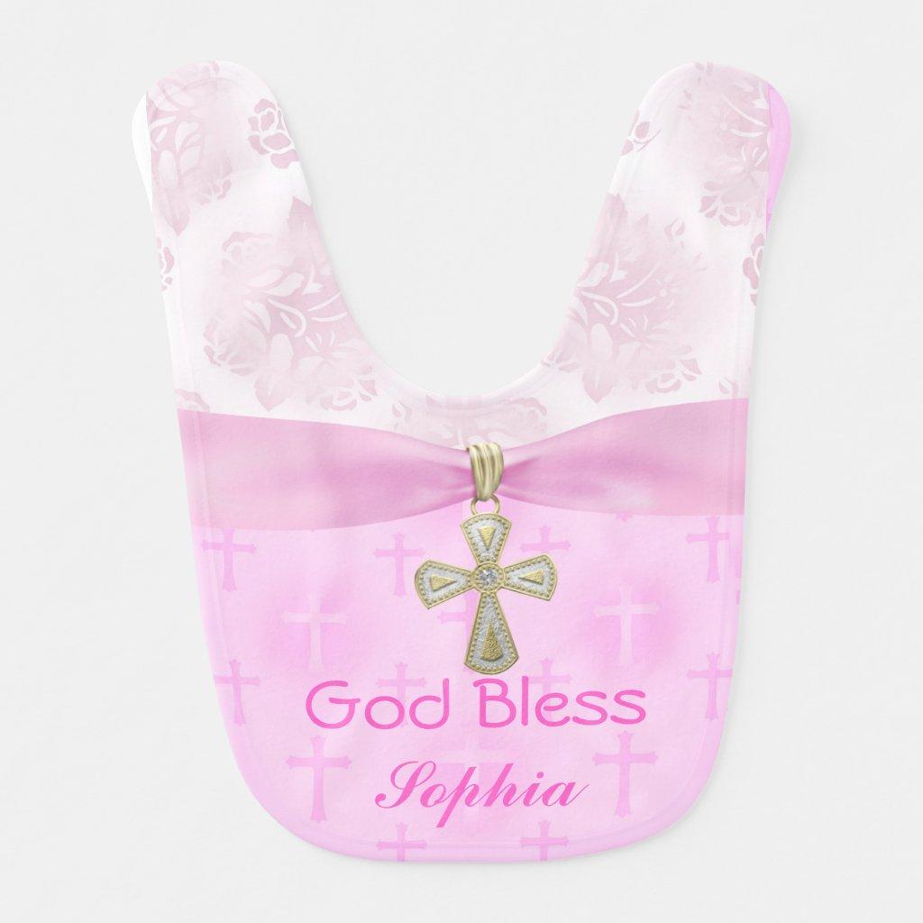 Personalised Christening Bib