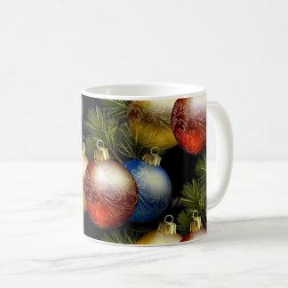Beautiful Christmas Balls with Delicate Design Coffee Mug