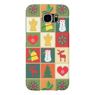 Beautiful Christmas Figures by storeman Samsung Galaxy S6 Cases