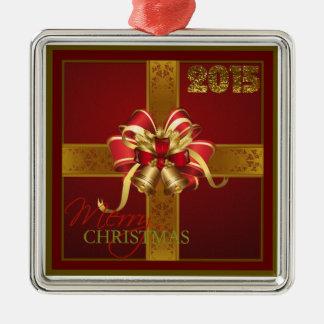 """Beautiful Christmas Gift 2015"" Premium Ornament"