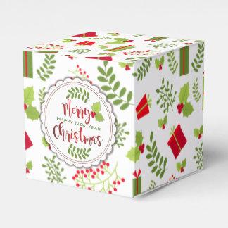 Beautiful Christmas Script Gifts Favour Box