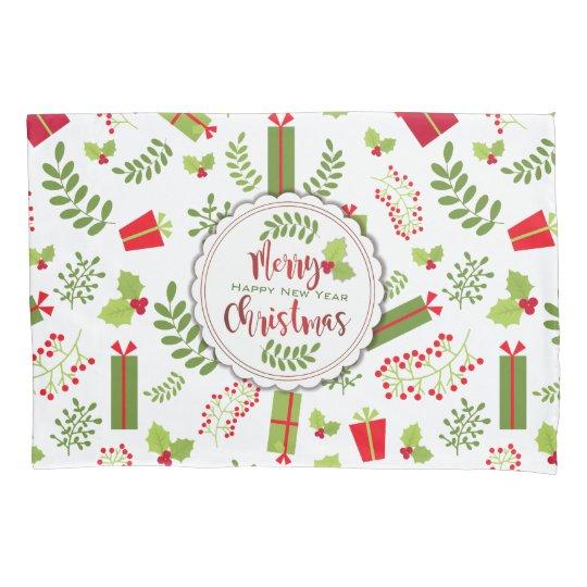 Beautiful Christmas Script Gifts Pillowcase