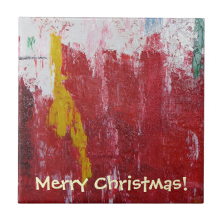 Beautiful Christmas Tile! Small Square Tile