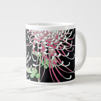 Beautiful Chrysanthemum Fine Japanese Floral Giant Coffee Mug