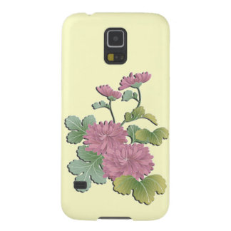 Beautiful chrysanthemum galaxy s5 cover