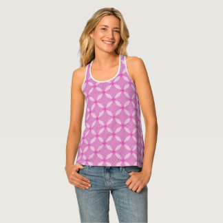 Beautiful Circle Pattern Tank Top