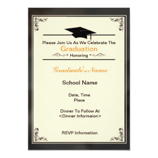 Beautiful Class of 2012 Graduation Invitations