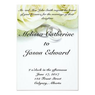 Beautiful Classic Wedding Invitation