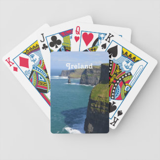 Beautiful Cliffs of Moher Bicycle Playing Cards