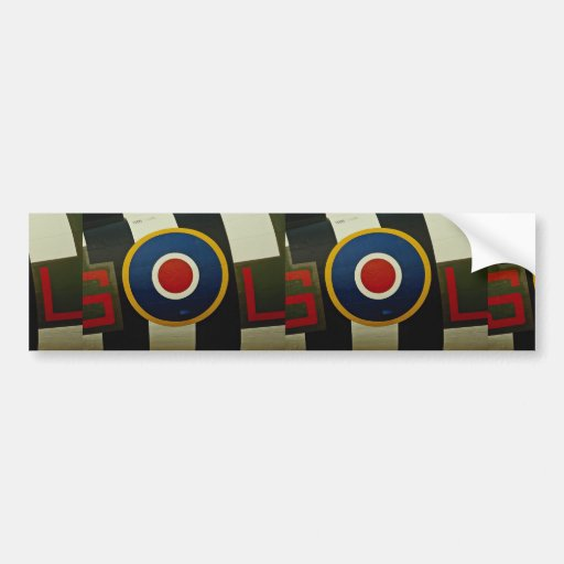Beautiful Close-up of aircrafts, colorful marking, Bumper Stickers