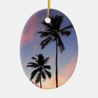 Beautiful Coast Sunrise Christmas Ornament