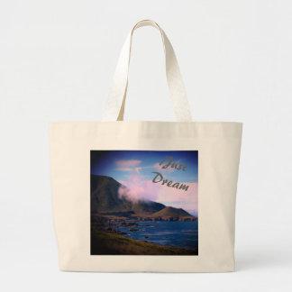 Beautiful Coastline Just Dream Tote Bag