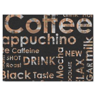 """Beautiful Coffee Espresso Cappucino Kitchen Drink 17"""" X 23"""" Tissue Paper"""
