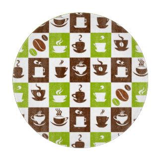 Beautiful Coffee Espresso Cappucino Kitchen Drink Cutting Board